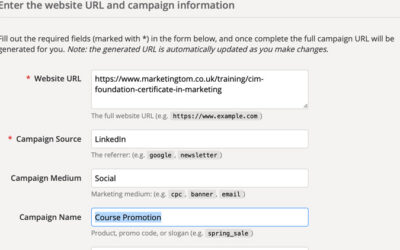 Setting Up Campaign URL Builder and Bit.ly for Google Analytics